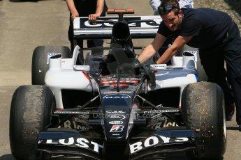 World © Octane Photographic Ltd. Sunday 22nd June 2014. Red Bull Ring, Spielberg – Austria, Formula 1 Legends. Patrick Friesacher - Minardi Cosworth PS04B. Digital Ref: 1003LB1D4689