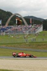 World © Octane Photographic Ltd. Saturday 21st June 2014. Red Bull Ring, Spielberg - Austria - Formula 1 Practice 3. Scuderia Ferrari F14T - Fernando Alonso. Digital Ref: 0995LB1D1411