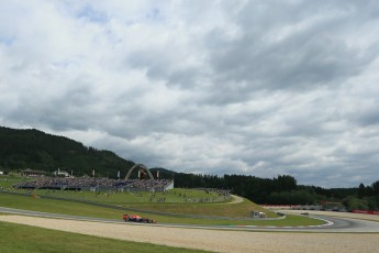 World © Octane Photographic Ltd. Saturday 21st June 2014. Red Bull Ring, Spielberg - Austria - Formula 1 Practice 3. Infiniti Red Bull Racing RB10 - Sebastian Vettel. Digital Ref: 0995LB1DX1861