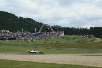 World © Octane Photographic Ltd. Saturday 21st June 2014. Red Bull Ring, Spielberg - Austria - Formula 1 Practice 3. Mercedes AMG Petronas F1 W05 Hybrid – Lewis Hamilton. Digital Ref: 0995LB1DX1953