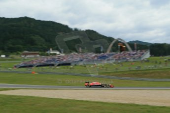 World © Octane Photographic Ltd. Saturday 21st June 2014. Red Bull Ring, Spielberg - Austria - Formula 1 Practice 3. Marussia F1 Team MR03 - Max Chilton. Digital Ref: 0995LB1DX1971