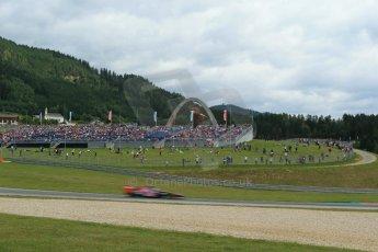 World © Octane Photographic Ltd. Saturday 21st June 2014. Red Bull Ring, Spielberg - Austria - Formula 1 Practice 3. Scuderia Toro Rosso STR 9 – Daniil Kvyat. Digital Ref: 0995LB1DX2039