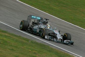 World © Octane Photographic Ltd. Saturday 21st June 2014. Red Bull Ring, Spielberg - Austria - Formula 1 Practice 3. Mercedes AMG Petronas F1 W05 Hybrid – Lewis Hamilton. Digital Ref: 0995LB1DX2234