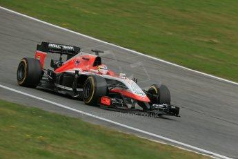 World © Octane Photographic Ltd. Saturday 21st June 2014. Red Bull Ring, Spielberg - Austria - Formula 1 Practice 3. Marussia F1 Team MR03 - Jules Bianchi. Digital Ref: 0995LB1DX2248