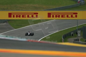 World © Octane Photographic Ltd. Friday 20th June 2014. Red Bull Ring, Spielberg - Austria - Formula 1 Practice 1. McLaren Mercedes MP4/29 - Jenson Button. Digital Ref: 0991LB1D9661