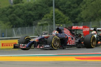 rld © Octane Photographic Ltd. Friday 20th June 2014. Red Bull Ring, Spielberg - Austria - Formula 1 Practice 1.  Scuderia Toro Rosso STR 9 – Daniil Kvyat. Digital Ref: 0991LB1D9720