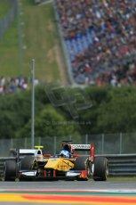 World © Octane Photographic Ltd. Saturday 21st June 2014. GP2 Race 1 – Red Bull Ring, Spielberg - Austria. Jolyon Palmer – DAMS. Digital Ref : 0997LB1D2841