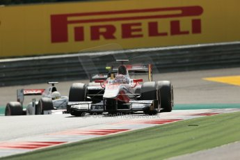 World © Octane Photographic Ltd. Saturday 21st June 2014. GP2 Race 1 – Red Bull Ring, Spielberg - Austria. Takuya Izawa - ART Grand Prix. Digital Ref : 0997LB1D3107
