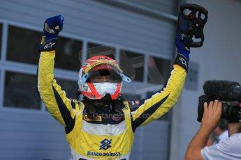 World © Octane Photographic Ltd. Saturday 21st June 2014. GP2 Race 1 – Red Bull Ring, Spielberg - Austria. Felipe Nasr - Carlin. Digital Ref : 0997LB1D3540
