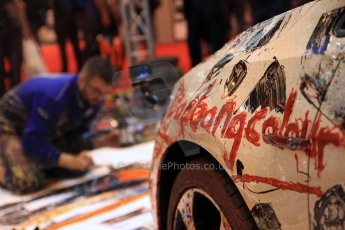 World © Octane Photographic Ltd. Autosport International Show NEC Birmingham, Friday 10th January 2014. Pop Bang Colour Stand Digital ref: 0878cj7d0242
