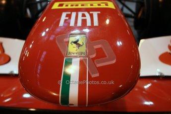 World © Octane Photographic Ltd. Autosport International Show NEC Birmingham, Thursday 9th January 2014. Ferrari F1 nose. Digital ref: 0878lb1d8726