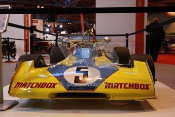 World © Octane Photographic Ltd. Autosport International Show NEC Birmingham, Thursday 9th January 2014. John Surtees 50th anniversary display. Digital ref: 0878lb1d8760