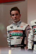 World © Octane Photographic Ltd. Autosport International Show NEC Birmingham, Thursday 9th January 2014. BRDC McLaren Autosport Young Driver of the Year finalists. Charlie Robertson. Digital ref: 0878lb1d8805