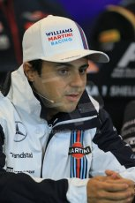 World © Octane Photographic Ltd. Thursday 21st August 2014. Belgian GP, Spa-Francorchamps - Formula 1 FIA Press Conference. Williams Martini Racing - Felipe Massa. Digital Ref: 1078LB1D6162