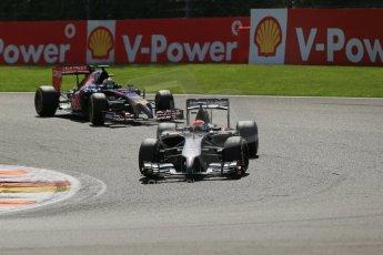 World © Octane Photographic Ltd. Sunday 24th August 2014, Belgian GP, Spa-Francorchamps. - Formula 1 Race. Sauber C33 – Adrian Sutil. Digital Ref: 1090LB1D1954