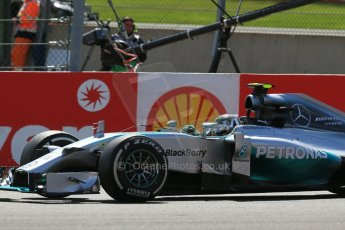 World © Octane Photographic Ltd. Sunday 24th August 2014, Belgian GP, Spa-Francorchamps. - Formula 1 Race. Mercedes AMG Petronas F1 W05 Hybrid - Nico Rosberg. Digital Ref: 1090LB1D2150