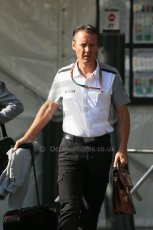 World © Octane Photographic Ltd. Sunday 24th August 2014, Belgian GP, Spa-Francorchamps. - Formula 1 Paddock. McLaren Mercedes Sporting Director - Sam Michael. Digital Ref: 1088LB1D1375