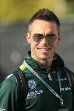 World © Octane Photographic Ltd. Sunday 24th August 2014, Belgian GP, Spa-Francorchamps. - Formula 1 Paddock. Caterham F1 Team – Andre Lotterer. Digital Ref: 1088LB1D1422