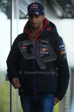 World © Octane Photographic Ltd. Sunday 24th August 2014, Belgian GP, Spa-Francorchamps. - Formula 1 Paddock. Infiniti Red Bull Racing – Daniel Ricciardo. Digital Ref: 1088LB1D1464