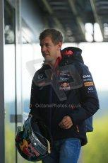 World © Octane Photographic Ltd. Sunday 24th August 2014, Belgian GP, Spa-Francorchamps. Formula 1 Paddock. Infiniti Red Bull Racing - Sebastian Vettel. Digital Ref: 1088LB1D1535
