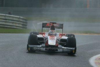 World © Octane Photographic Ltd. Friday Saturday 23rd August 2014. GP2 Race 1 – Belgian GP, Spa-Francorchamps. Takuya Izawa - ART Grand Prix. Digital Ref : 1086LB1D0447