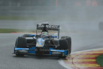 World © Octane Photographic Ltd. Friday Saturday 23rd August 2014. GP2 Race 1 – Belgian GP, Spa-Francorchamps. Nathanael Berthon - Venezuela GP Lazarus. Digital Ref :   1086LB1D0502