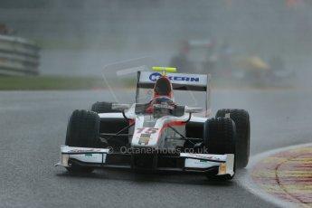 World © Octane Photographic Ltd. Friday Saturday 23rd August 2014. GP2 Race 1 – Belgian GP, Spa-Francorchamps. Simon Trummer - Rapax. Digital Ref : 1086LB1D0509