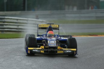 World © Octane Photographic Ltd. Friday Saturday 23rd August 2014. GP2 Race 1 – Belgian GP, Spa-Francorchamps. Felipe Nasr - Carlin. Digital Ref : 1086LB1D0658