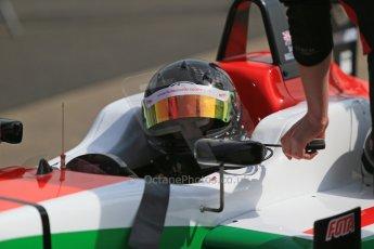 World © Octane Photographic Ltd. Cooper Tyres British Formula 3 (F3). Rockingham - Qualifying, Sunday 4th May 2014. Dallara F312 Mercedes HWA – Sam Macleod - Fortec Motorsports. Digital Ref : 0920lb1d1513