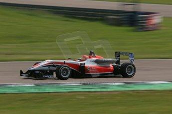 "World © Octane Photographic Ltd. Cooper Tyres British Formula 3 (F3). Rockingham - Qualifying, Sunday 4th May 2014. Dallara F312 Mercedes HWA - Hong Wei ""Martin"" Cao - Fortec Motorsports. Digital Ref : 0920lb1d1608"