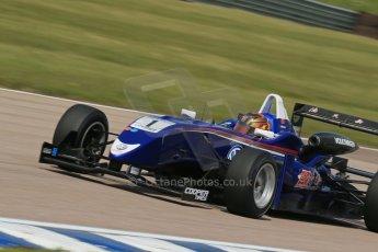 World © Octane Photographic Ltd. Cooper Tyres British Formula 3 (F3). Rockingham - Qualifying, Sunday 4th May 2014. Dallara F310 Volkswagen - Peter Li Zhi Cong - Carlin. Digital Ref : 0920lb1d1784