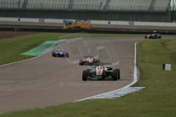 World © Octane Photographic Ltd. Cooper Tyres British Formula 3 (F3). Rockingham - Race, Sunday 4th May 2014. Dallara F312 Mercedes HWA – Sam MacLeod – Fortec Motorsports. Digital Ref : 0921lb1d2193