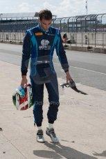 World © Octane Photographic Ltd. Friday 4th July 2014. GP2 Qualifying Session –British GP - Silverstone - UK. Nathanael Berthon - Venezuela GP Lazarus. Digital Ref : 1014JM1D1112