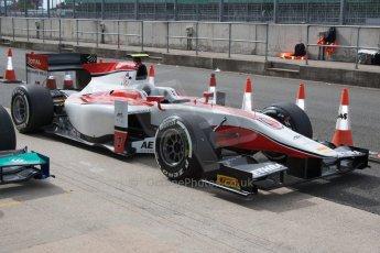 World © Octane Photographic Ltd. Friday 4th July 2014. GP2 Qualifying Session –British GP - Silverstone - UK. Stoffel Vandoorne - ART Grand Prix. Digital Ref : 1014JM1D1142