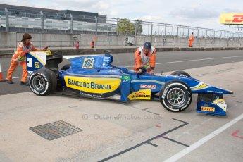 World © Octane Photographic Ltd. Friday 4th July 2014. GP2 Qualifying Session –British GP - Silverstone - UK. Felipe Nasr - Carlin. Digital Ref : 1014JM1D1143