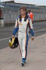 World © Octane Photographic Ltd. Friday 4th July 2014. GP2 Qualifying Session –British GP - Silverstone - UK. Johnny Cecotto - Trident. Digital Ref : 1014JM1D1146