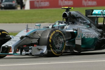 World © Octane Photographic Ltd. Friday 6th June 2014. Canada - Circuit Gilles Villeneuve, Montreal. Formula 1 Practice 2. Mercedes AMG Petronas F1 W05 Hybrid - Nico Rosberg. Digital Ref: 0979LB1D4249