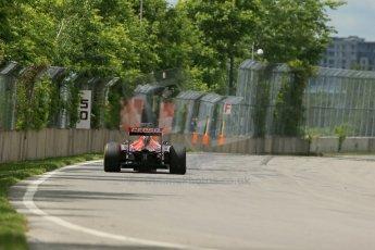 World © Octane Photographic Ltd. Friday 6th June 2014. Canada - Circuit Gilles Villeneuve, Montreal. Formula 1 Practice 2. Scuderia Toro Rosso STR9 - Jean-Eric Vergne. Digital Ref: 0979LB1D4404