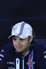 World © Octane Photographic Ltd. Formula 1 Canada – Circuit Gilles Villeneuve, Montreal. Thursday 5th June 2014. Drivers' press conference. Williams Martini Racing – Felipe Massa. Digital Ref : 0977LB1D1250