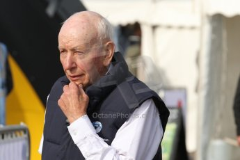 World © Octane Photographic Ltd. Donington Historic Festival, May 4th 2014. John Surtees OBE. Digital Ref : 0918cb7d8515