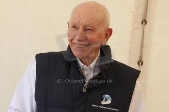 World © Octane Photographic Ltd. Donington Historic Festival, May 4th 2014. John Surtees OBE. Digital Ref : 0918cb7d8552