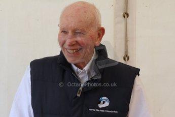 World © Octane Photographic Ltd. Donington Historic Festival, May 4th 2014. John Surtees OBE. Digital Ref : 0918cb7d8559