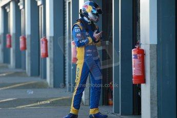 World © Octane Photographic Ltd. Donington Park general unsilenced test day, 13th February 2014. Pirtek Racing (Eurotech) Honda Civic NGTC - Andy Jordan. Digital Ref : 0891cb1d2187