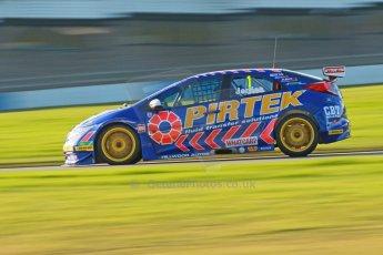 World © Octane Photographic Ltd. Donington Park general unsilenced test day, 13th February 2014. Pirtek Racing (Euroech) Honda Civic NGTC - Andy Jordan. Digital Ref : 0891cb1d2270