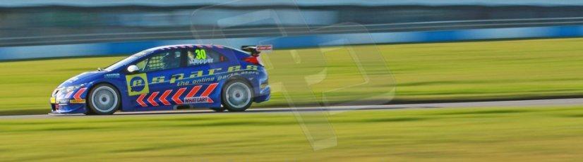 World © Octane Photographic Ltd. Donington Park general unsilenced test day, 13th February 2014. Eurotech Racing Honda Civic NGTC - Martin Depper. Digital Ref : 0891cb1d2359
