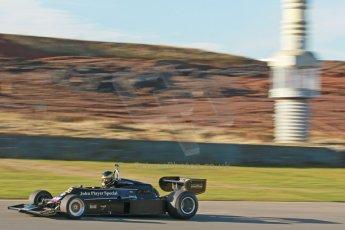 World © Octane Photographic Ltd. Donington Park general unsilenced test day, 13th February 2014. FIA Historic Formula 1 (F1) Championship. Ex-Gunnar Nilsson Lotus 76. Digital Ref : 0891cb1d2423