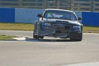 World © Octane Photographic Ltd. Donington Park general unsilenced test day, 13th February 2014. Rob Austin Racing Audi A4 NGTC. Digital Ref : 0891cb1d4453