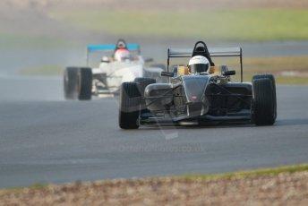World © Octane Photographic Ltd. 18th February 2014 – Donington Park general unsilenced testing. BRDC Formula 4, MSV F4-13, David Wagner and Chris Middlehurst – MGR Motorsport. Digital Ref : 0892cb1d2832