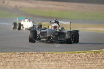 World © Octane Photographic Ltd. 18th February 2014 – Donington Park general unsilenced testing. BRDC Formula 4, MSV F4-13, David Wagner and Chris Middlehurst  – MGR Motorsport. Digital Ref : 0892cb1d2870