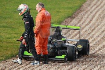 World © Octane Photographic Ltd. 18th February 2014 – Donington Park general unsilenced testing. Protyre Formula Renault BARC -  Tarun Reddy  – MGR Motorsport. Digital Ref : 0892cb1d2993